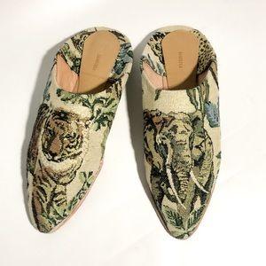 26907025dc7c NANUSHKA Shoes | Babouche Asia Slipper In Jungle Tapestry | Poshmark